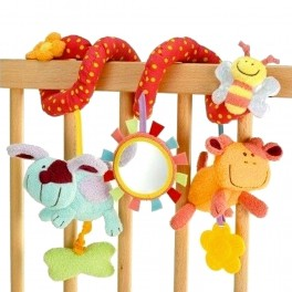 Spiral Rattle Toy