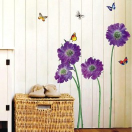 """Sienų lipdukas """"Gėlės"""""""