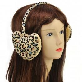 Love Shape Fuzzy Ear Muff
